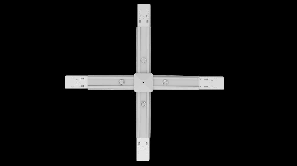 Conector en cruz