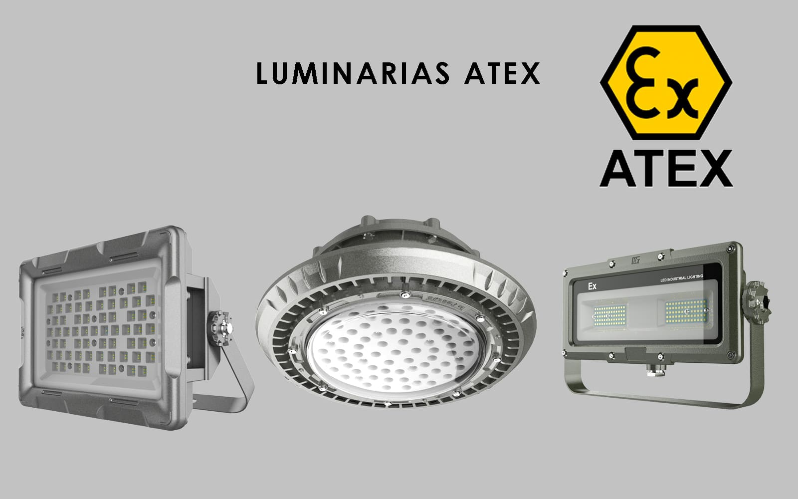iluminación ATEX